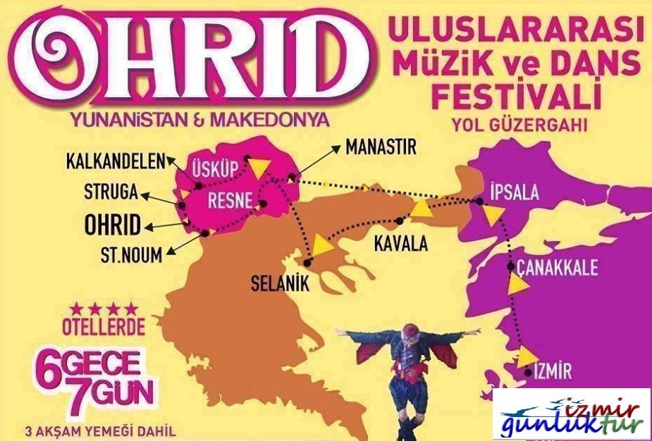 İzmir Cikisli Uluslar Arası Ohrid Müzik ve Dans Festivali