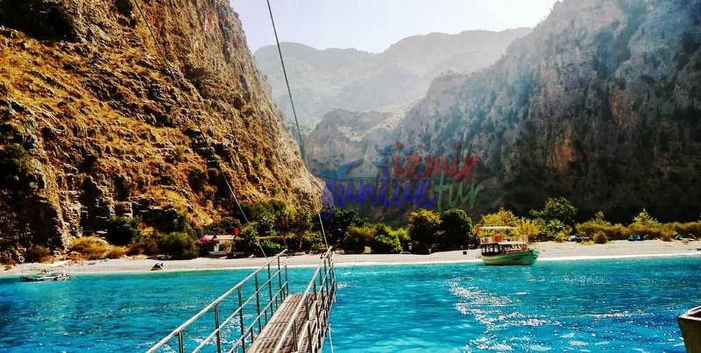 İzmir Cikisli Dalaman Kaş Kalkan Demre Dalyan Konaklama